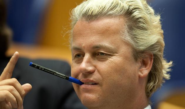 Irkçı politikacı Wilders: Saldırıların tek sorumlusu İslam
