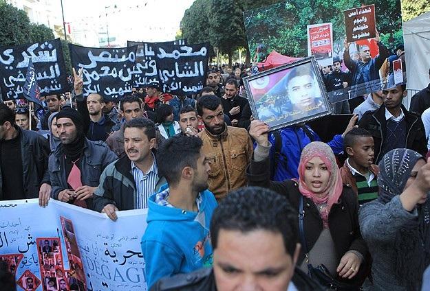 Tunus'ta devrimin 4'üncü yılında işsizlik sürüyor
