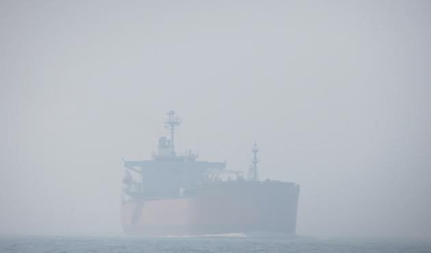 Çanakkale Boğazı'nda trafiğe sis engeli