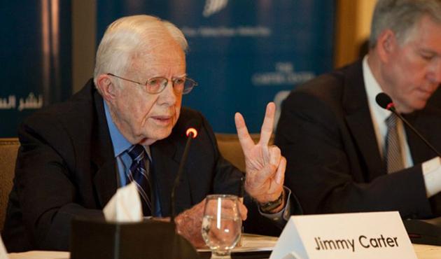 Carter: Paris saldırısının sebebi Filistin işgali