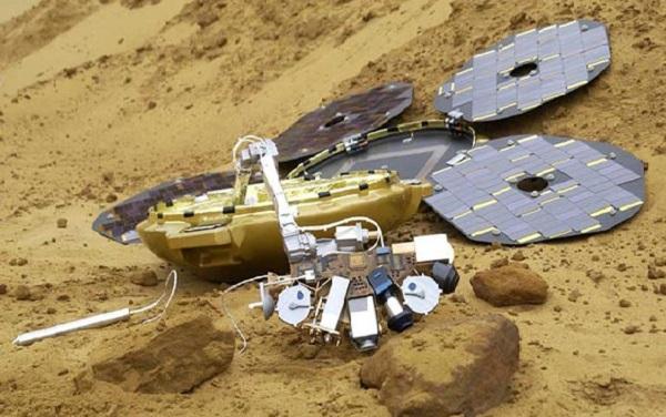 Mars'a gönderilen kayıp uzay robotu bulundu