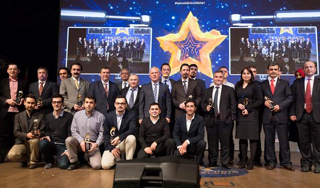 Yıldız Teknik Üniversitesi'nin Teknoloji Ödülleri verildi