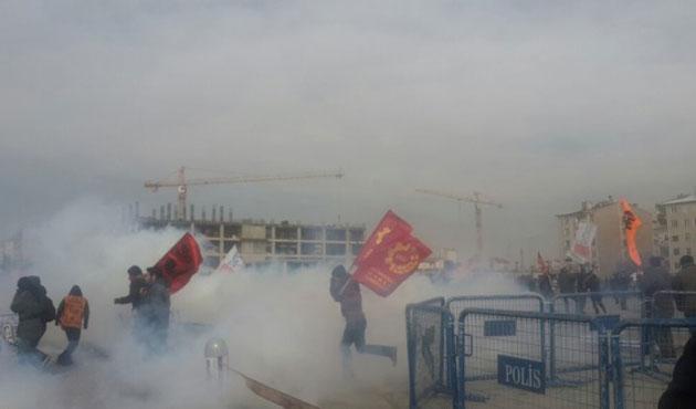 Adliye önünde Ali İsmail Korkmaz kararı protestosu