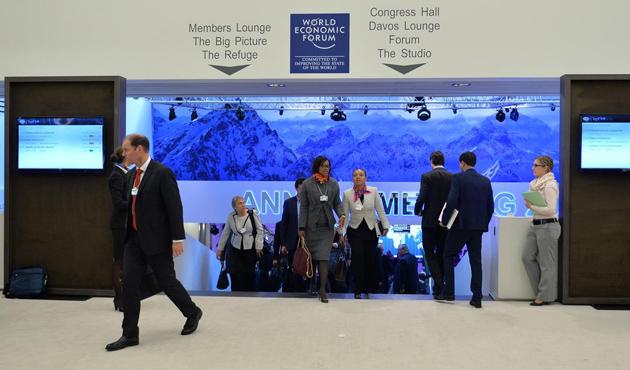 Davos'taki Dünya Ekonomik Forumu başladı