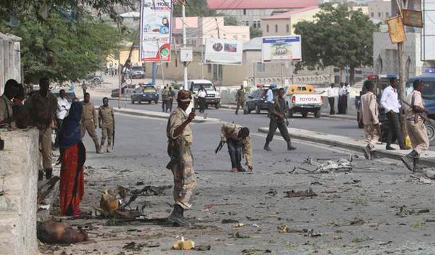 Somali'deki otel baskını sona erdi: 15 ölü