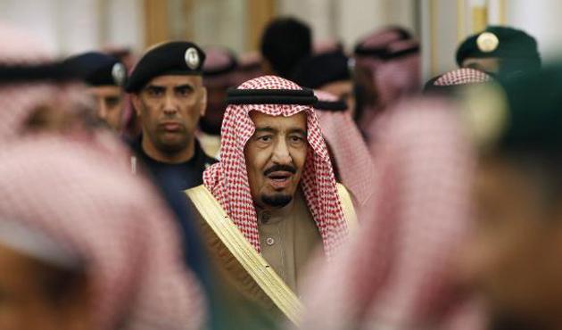 Raşid Gannuşi Suud Kralı Salman'la görüştü