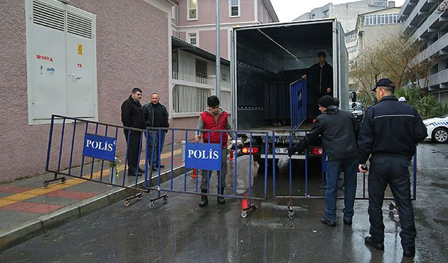 Eskişehir'de bu sabah 10 polis gözaltına alındı