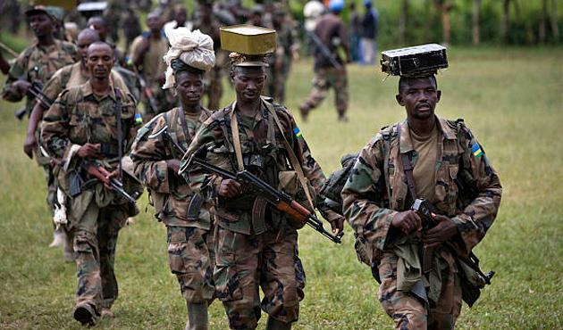 DKC, Ruandalı Hutulara saldırı başlattı