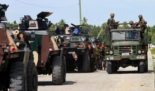 Filipinler'de Ebu Seyyaf'a operasyon