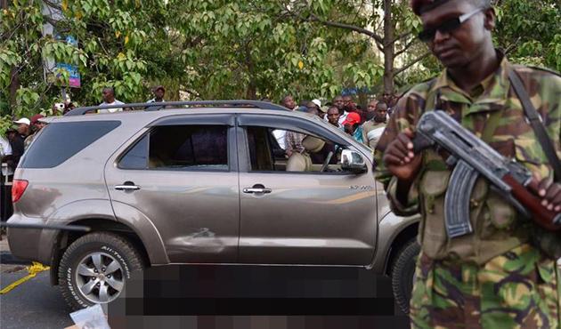 Kenya'da milletvekiline suikast