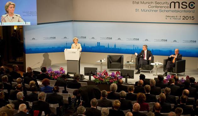 Münih Güvenlik Konferansı'nda Ukrayna konuşuldu