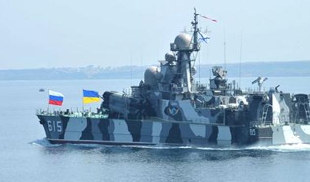 Çanakkale'den Rus askeri gemisi geçti