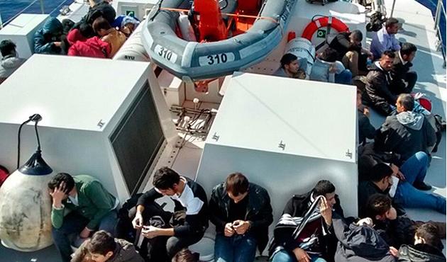 Akdeniz'de 29 kaçak soğuktan öldü