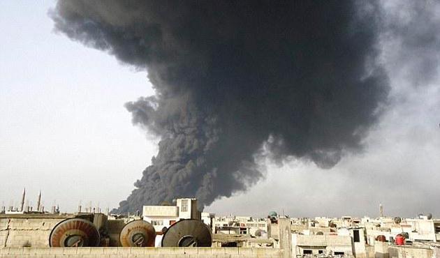 Libya'da petrol boru hattında patlama