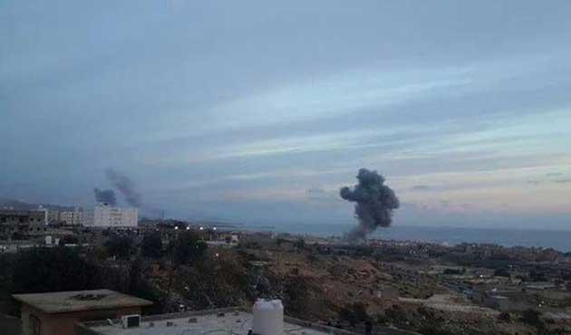 Libya'da savaş uçağı düşürüldü