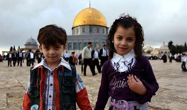 Gazzeli çocuklar 15 yıl sonra Kudüs'te