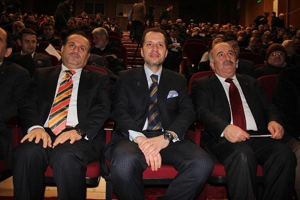 Erbakan vefatının 4. yılında Sivas'ta anıldı