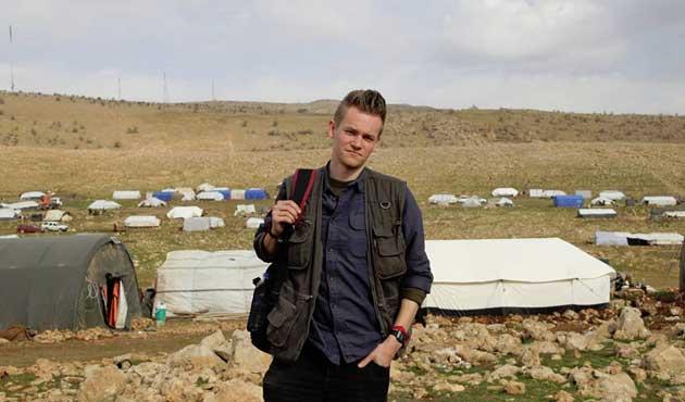 Suriye rejimi İsveçli gazeteciyi serbest bıraktı
