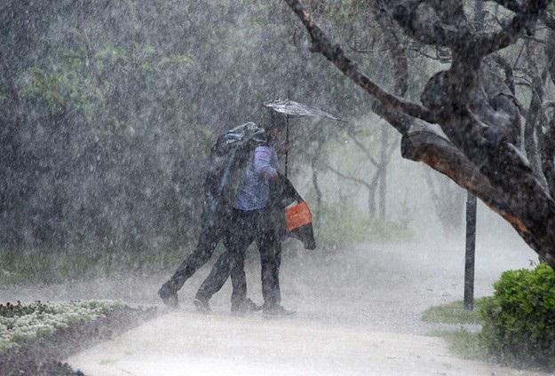 Kıyı Ege'deki çok kuvvetli yağış uyarısı
