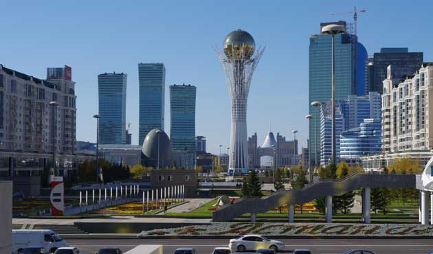 Kazakistan sandık başında