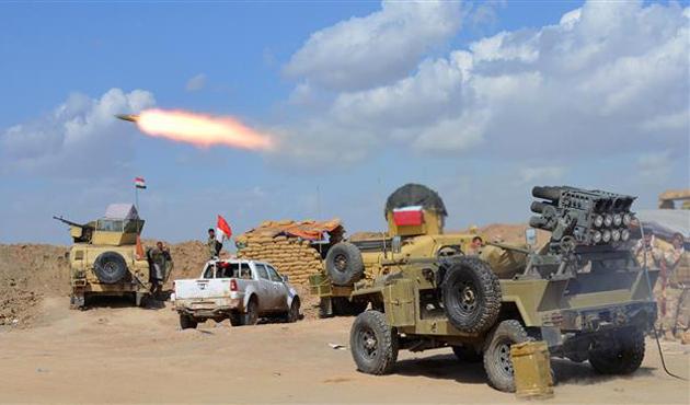IŞİD'in Tikrit'ten çekildiği iddiası
