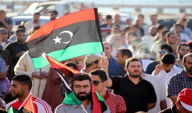 Libya'da ulusal birlik hükümeti protesto edildi