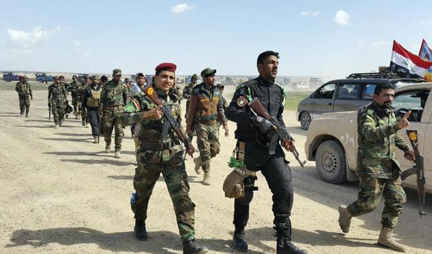 IŞİD, Tikrit'te üç koldan kuşatılıyor