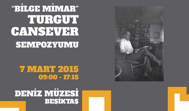 Turgut Cansever adına sempozyum