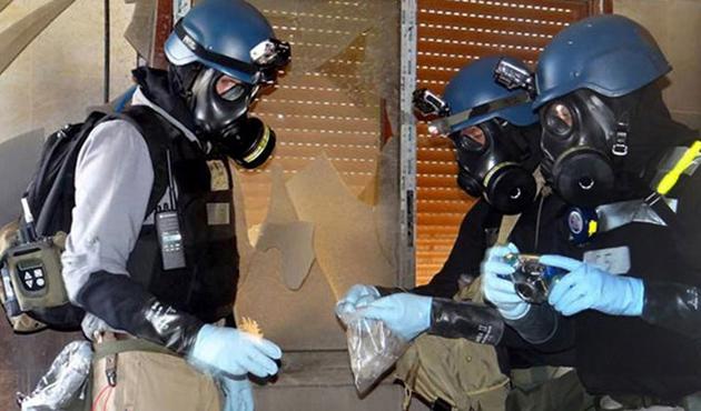 BM Suriye'de klor gazı kullanımını yasakladı