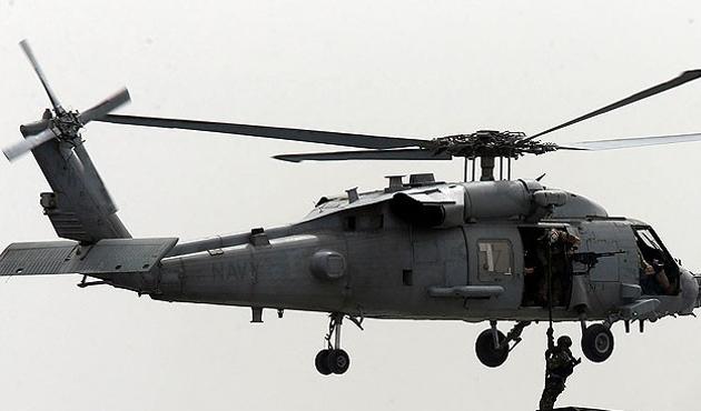 ABD helikopteri düştü, 11 askeri kayıp