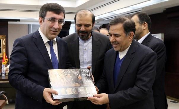 Kalkınma Bakanı Cevdet Yılmaz İran'da