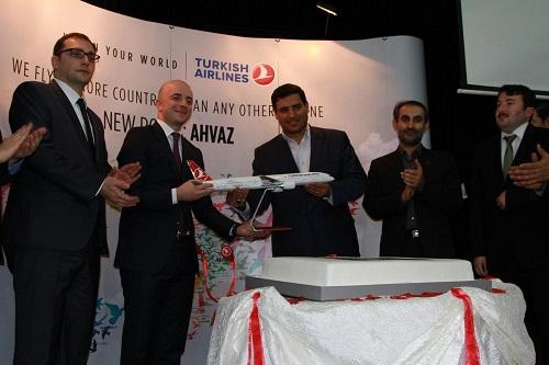THY, ilk İstanbul-Ahvaz seferini yaptı