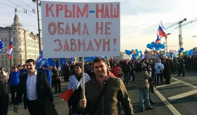 Putin Kırım ilhakının yıldönümünde konuştu
