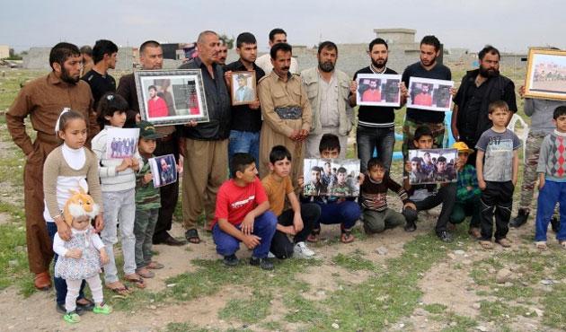 Rehine Peşmergelerin aileleri Barzani'ye tepkili