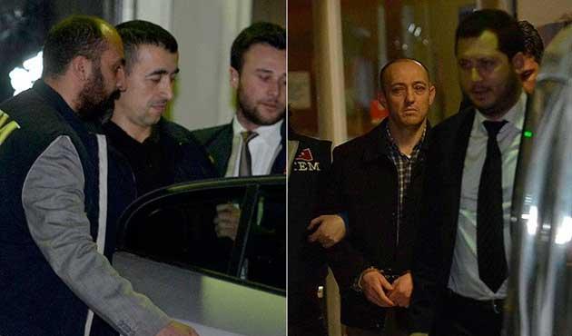 Romanya'dan getirilen polisler tutuklandı