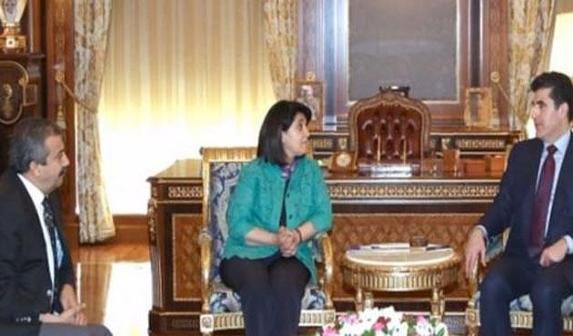 Leyla Zana, Öcalan'ın mesajını Barzani'ye iletti