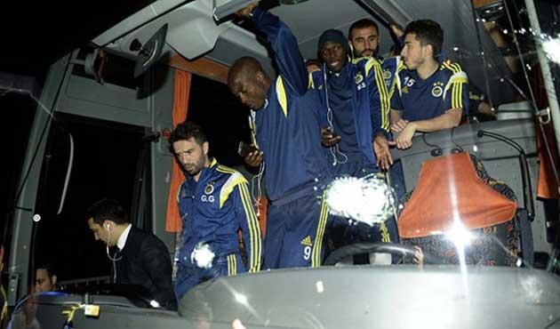 Fenerbahçe otobüsüne saldırıda bir kişi gözaltında