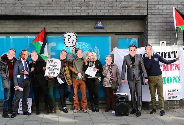 Robbie Williams'a İsrail protestosu