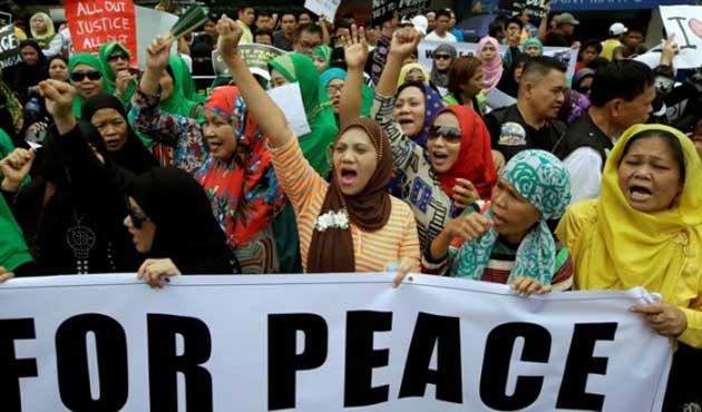 MILF'ten Filipinler yönetimine Anayasa şartı