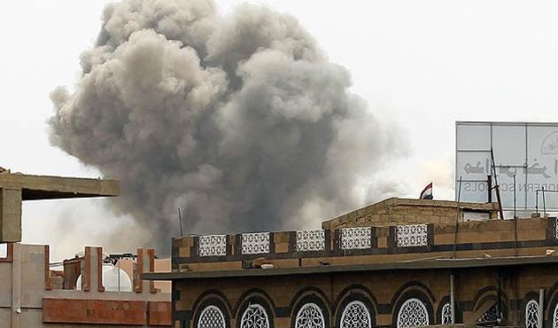 Yemen'de 25 günde 2 bin 300 hava saldırısı
