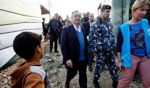 BM'den Batı'ya: Suriyelilere kapılarınızı açın