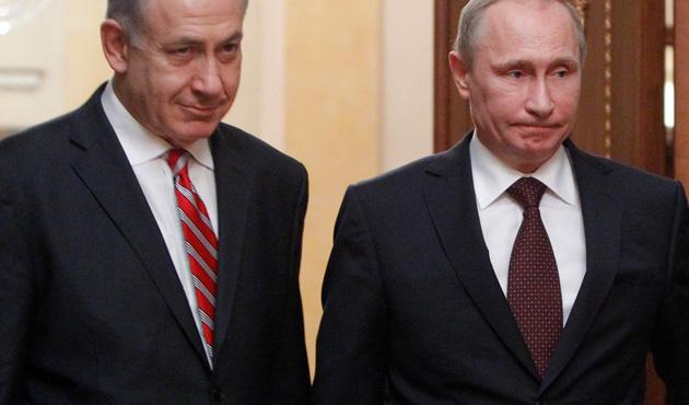 Netanyahu S-300'ler için yeniden Putin'le görüştü
