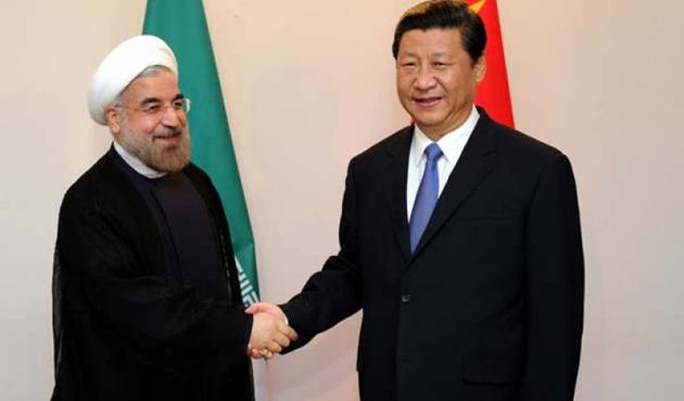 Ruhani, Çin devlet başkanıyla görüştü