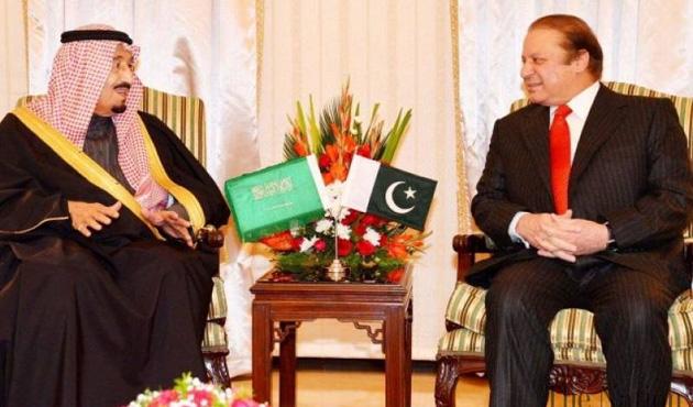 Pakistan Başbakanı Suudi Arabistan'da
