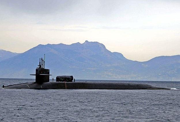 ABD'nin nükleer denizaltısı Filipinler'de