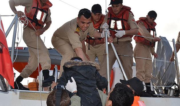 Mersin açıklarında 171 göçmen kurtarıldı