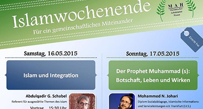 Almanya'da 'İslam hafta sonu' programı düzenlendi