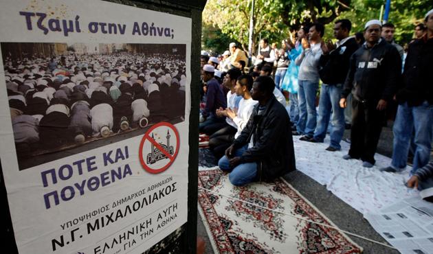 Atina'ya cami yasalaştı