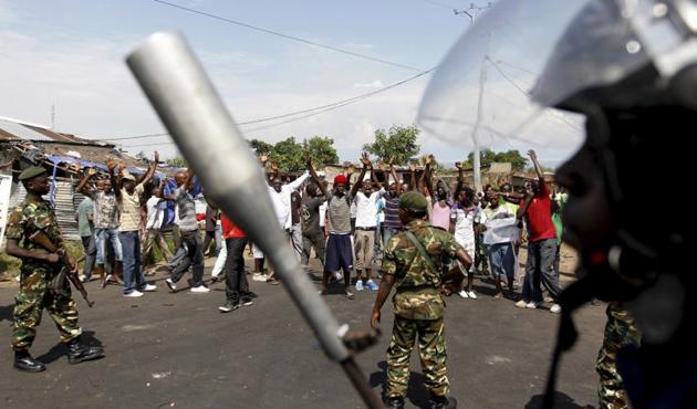 Burundi'de üç darbeci de tutuklandı