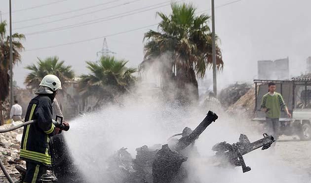 Suriye'de kanlı gün